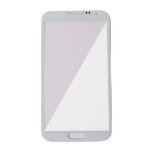 Glass Lens for Samsung Galaxy Note 2 (Generic) - Marble White