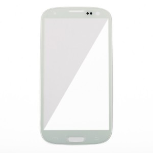 Glass Lens for Samsung Galaxy S3 (Generic) - White