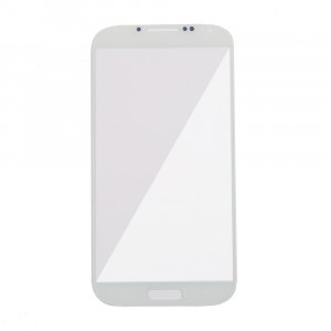 Glass Lens for Samsung Galaxy S4 (Generic) - White Frost