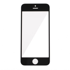 Glass Lens for iPhone 5 - Black