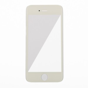 Glass Lens for iPhone 5 - White