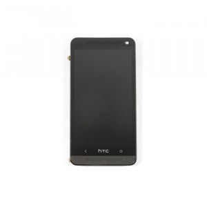 LCD & Digitizer Frame Assembly for HTC One M7 - Black