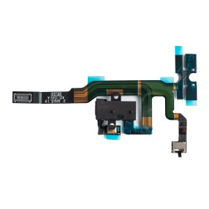 Headphone Jack Flex Cable for iPhone 4S - Black