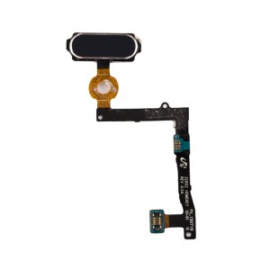 Home Button Flex Cable for Samsung Galaxy S6 Edge Plus (w/ Fingerprint Scanner) - Black Sapphire