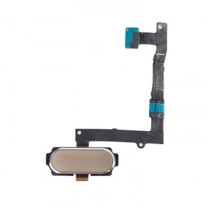 Home Button Flex Cable for Samsung Galaxy S6 Edge Plus (w/ Fingerprint Scanner) - Gold