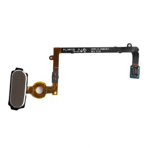 Home Button Flex Cable for Samsung Galaxy S6 Edge (w/ Fingerprint Scanner) - Gold