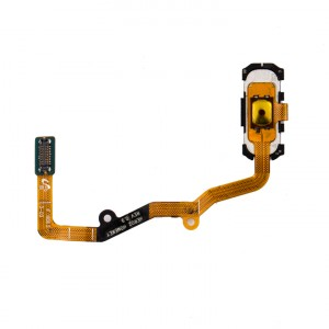 Home Button Flex Cable for Samsung Galaxy S7 Edge (w/ Fingerprint Scanner) - White