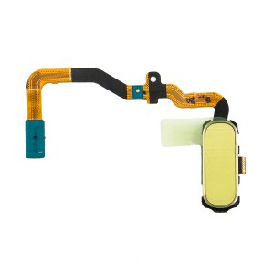 Home Button Flex Cable for Samsung Galaxy S7 (w/ Fingerprint Scanner) - Gold