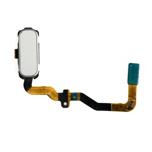 Home Button Flex Cable for Samsung Galaxy S7 (w/ Fingerprint Scanner) - White