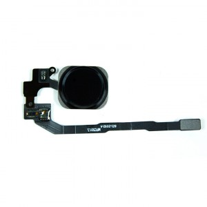 Home Button Flex Cable for iPhone 5S / SE - Black (No Touch ID)