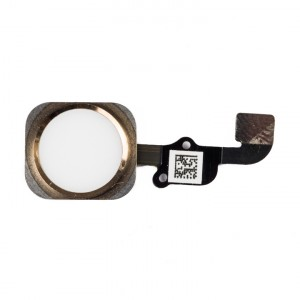 Home Button Flex Cable for iPhone 6S Plus - Gold (No Touch ID)