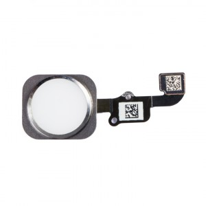 Home Button Flex Cable for iPhone 6 - White (No Touch ID)
