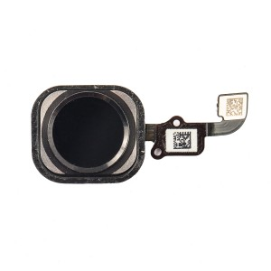 Home Button Flex Cable for iPhone 6 Plus - Black (No Touch ID)