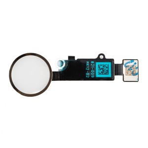 "Home Button Flex Cable (w/ Fingerprint Scanner) for iPhone 7 Plus (5.5"") - Gold (Fingerprint scanner is aftermarket - biometrics may not work)"