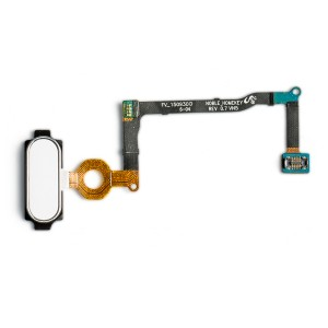 Home Button Flex Cable for Galaxy Note 5 - Silver