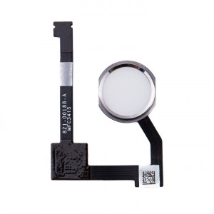 Home Button Flex Cable for iPad Mini 4 - Silver (No Touch ID)