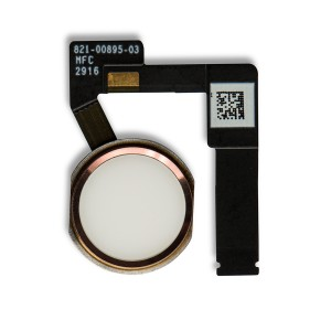"Home Button (w/ Fingerprint Scanner) for iPad Pro (10.5"") - Rose Gold"