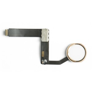 "Home Button Flex Cable for iPad Pro 9.7"" - Gold (No Touch ID)"