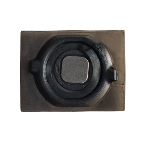 Home Button (w/ Rubber Gasket) for iPhone 4S (Generic) - Black