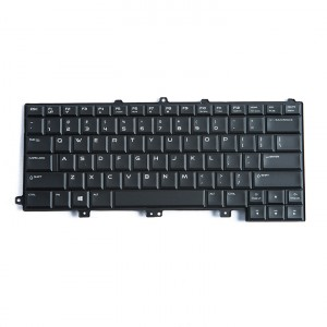 Keyboard (Backlit) for Dell Alienware M14X (NSK-LB0BC) (US Version)
