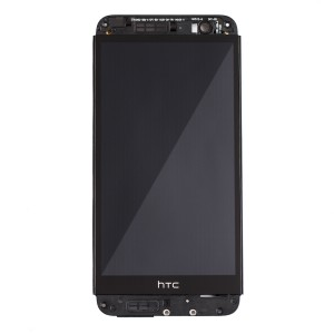 LCD & Digitizer Frame Assembly for HTC One E8 - Black