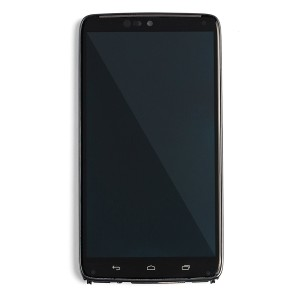 OLED Frame Assembly for Droid Turbo (XT1254) (Authorized OEM) - Black