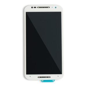 LCD & Digitizer Frame Assembly for Motorola Moto X 2nd Gen. (XT1092) (Authorized OEM) - White