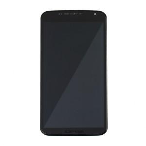 LCD & Digitizer Frame Assembly for Motorola Nexus 6 - Black