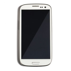 LCD & Digitizer Frame Assembly for Samsung Galaxy S3 (I535) (Select - Generic) - White
