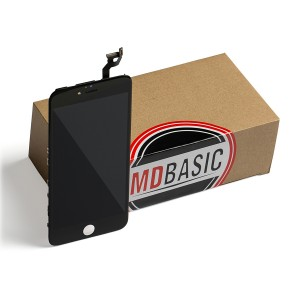 """LCD & Digitizer Frame Assembly for iPhone 6S Plus (5.5"""") (MDBasic) - Black (Bulk pricing available for sets of 5 screens)"""