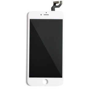"""LCD & Digitizer Frame Assembly for iPhone 6S Plus (5.5"""") (MDBasic) - White (Bulk pricing available for sets of 5 screens)"""