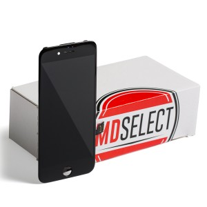 "LCD & Digitizer Frame Assembly for iPhone 7 (4.7"") (MDSelect) - Black (Bulk pricing available for sets of 5 screens)"