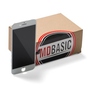 """LCD & Digitizer Frame Assembly for iPhone 7 (4.7"""") (MDBasic) - White (Bulk pricing available for sets of 5 screens)"""