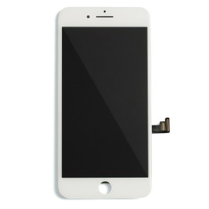 """LCD & Digitizer Frame Assembly for iPhone 8 Plus (5.5"""") (PrimeParts - Premium) - White"""