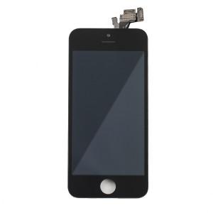 LCD & Digitizer Frame Assembly (w/ Front Cam & Prox. Sensor & Ear Speaker) for iPhone 5 (MDSelect) - Black