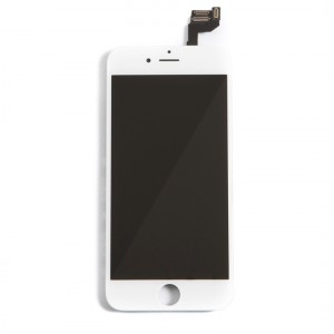 "LCD & Digitizer Frame Assembly (w/ Front Cam & Prox. Sensor & Ear Speaker) for iPhone 6S (4.7"") (MDSelect) - White"