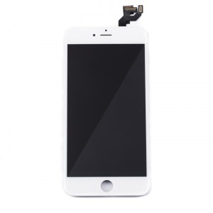 "LCD & Digitizer Frame Assembly (w/ Front Cam & Prox. Sensor & Ear Speaker) for iPhone 6S Plus (5.5"") (MDSelect) - White"