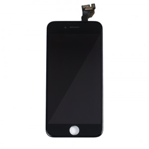 "LCD & Digitizer Frame Assembly (w/ Front Cam & Prox. Sensor & Ear Speaker) for iPhone 6 (4.7"") (MDSelect) - Black"