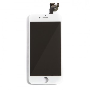 "LCD & Digitizer Frame Assembly (w/ Front Cam & Prox. Sensor & Ear Speaker) for iPhone 6 (4.7"") (MDSelect) - White"