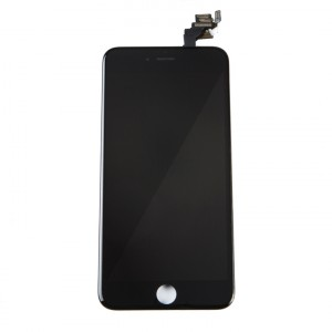 "LCD & Digitizer Frame Assembly (w/ Front Cam & Prox. Sensor & Ear Speaker) for iPhone 6 Plus (5.5"") (MDSelect) - Black"