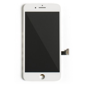 """LCD & Digitizer Frame Assembly (w/ Front Cam & Prox. Sensor & Ear Speaker) for iPhone 7 Plus (5.5"""") (MDSelect) - White"""