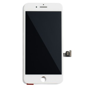 """LCD & Digitizer Frame Assembly (w/ Front Cam & Prox. Sensor & Ear Speaker) for iPhone 8 Plus (5.5"""") (MDSelect) - White"""