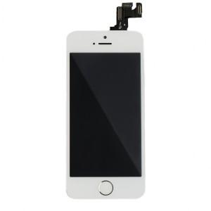 LCD & Digitizer Frame Assembly (w/ Front Cam & Prox. Sensor & Ear Speaker) for iPhone SE (MDSelect) - White