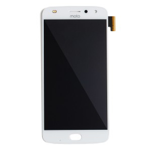 OLED Assembly with Front Flash for Moto Z2 Play (XT1710) (Authorized OEM) - White