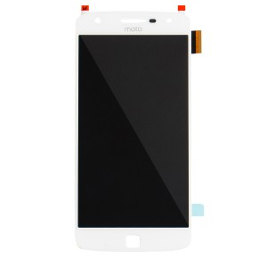 OLED Assembly for Moto Z Play (XT1635) (Authorized OEM) - White