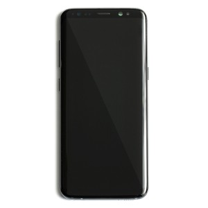 OLED Frame Assembly for Galaxy S8 (OEM - Service Pack) - Midnight Black