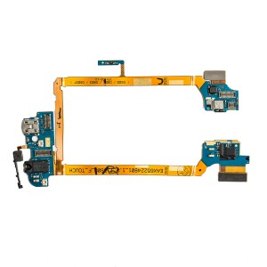 Main Flex Cable (w/ Audio Jack & Charging Port & Microphone) for LG G2 (D800 / D801)