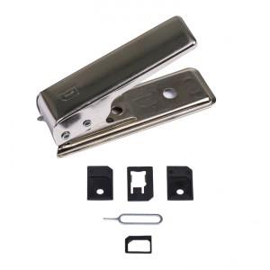 Nano Sim Cutter w/ Micro Sim Cutter Adapter