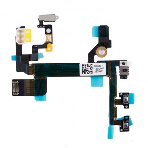 Power & Volume & Mute Flex Cable for iPhone 5S