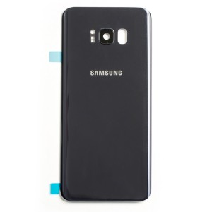 Back Glass with Adhesive for Galaxy S8+ (OEM - Service Pack) - Orchid Gray